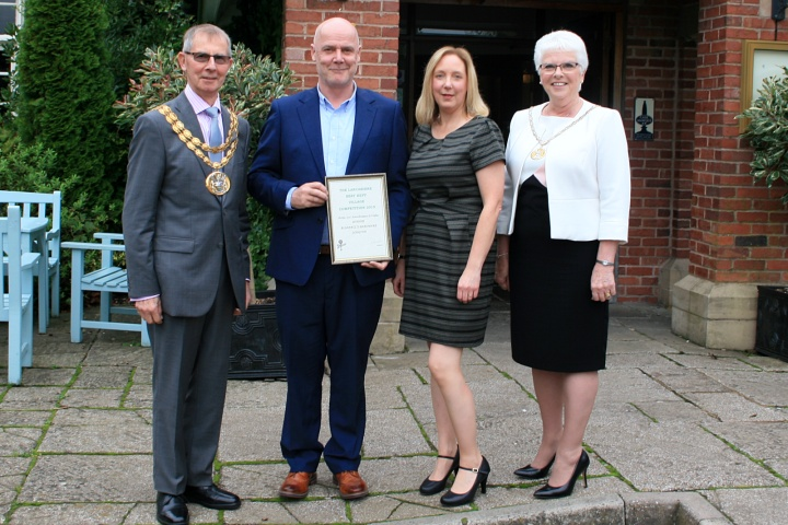 Lancashire Best Kept Village Competition 2019 - Winners Presentation - Outstanding Features